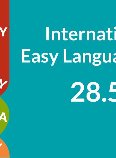Logo Internationaler Tag der Leichten Sprache 2021